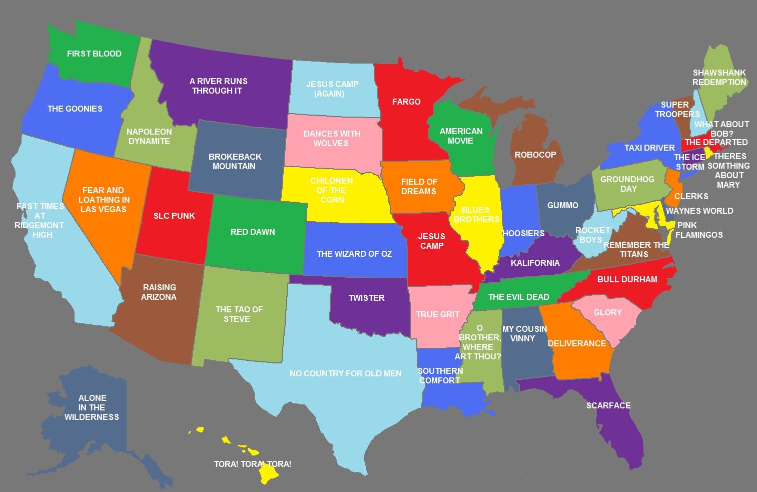 50 Movies That Represent All The States - PopOptiq on