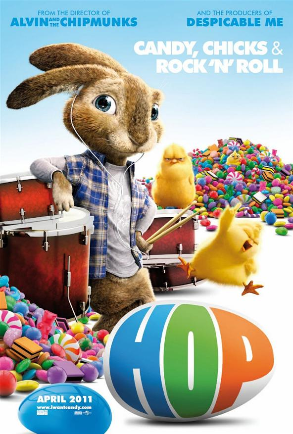 Poster and Trailer for Animated 'Hop' - PopOptiq