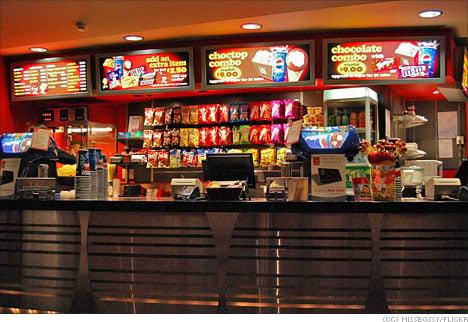 movie theater cinema food snack bar popoptiq. Black Bedroom Furniture Sets. Home Design Ideas