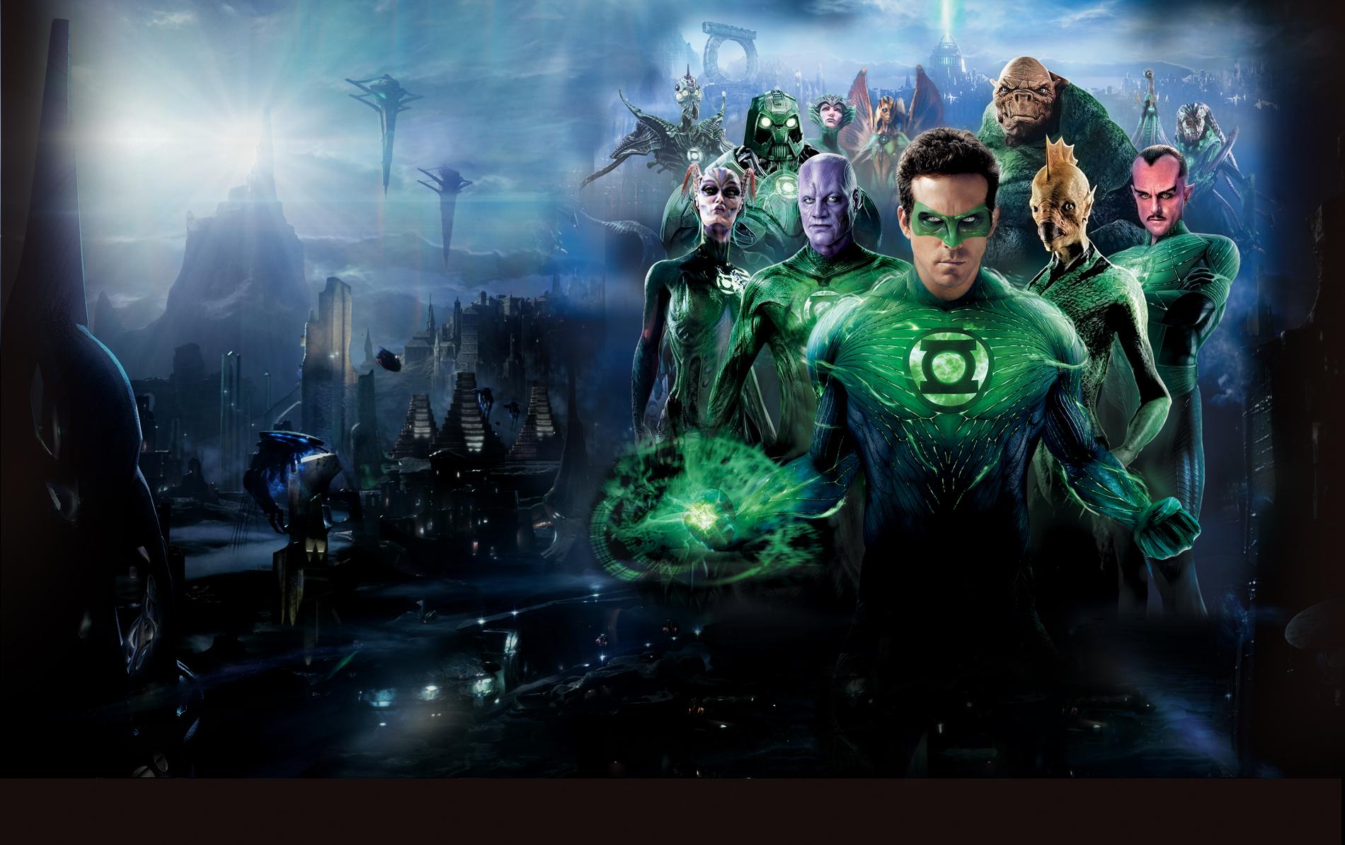Green Lantern Judge Dredd