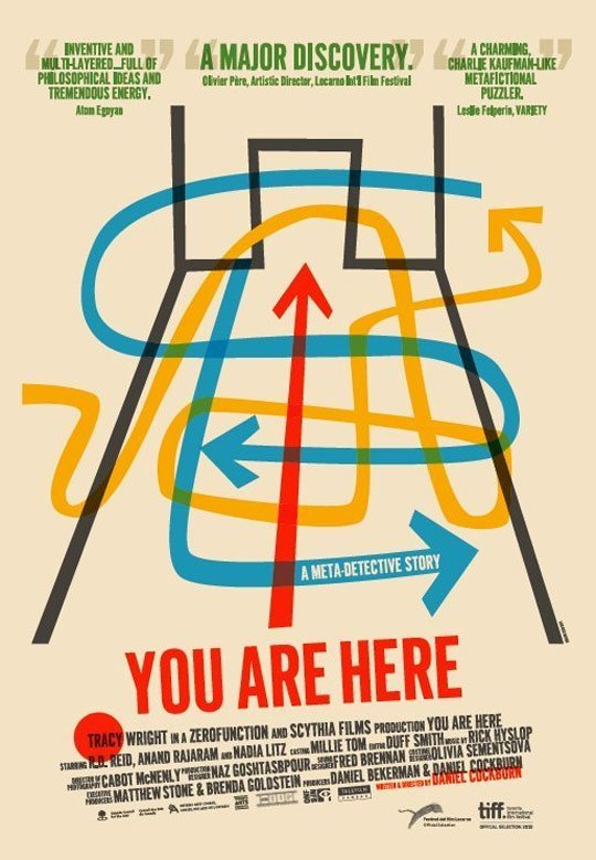 You Are Here Poster