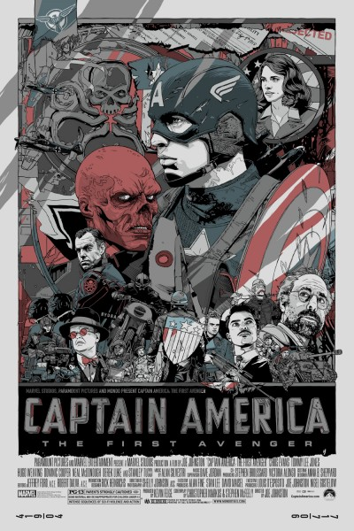 awesome posters olly moss and eric tan�s �captain america