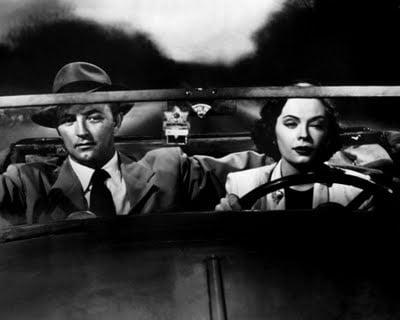 Jane Greer, Robert Mitchum The Big Steal (1949)