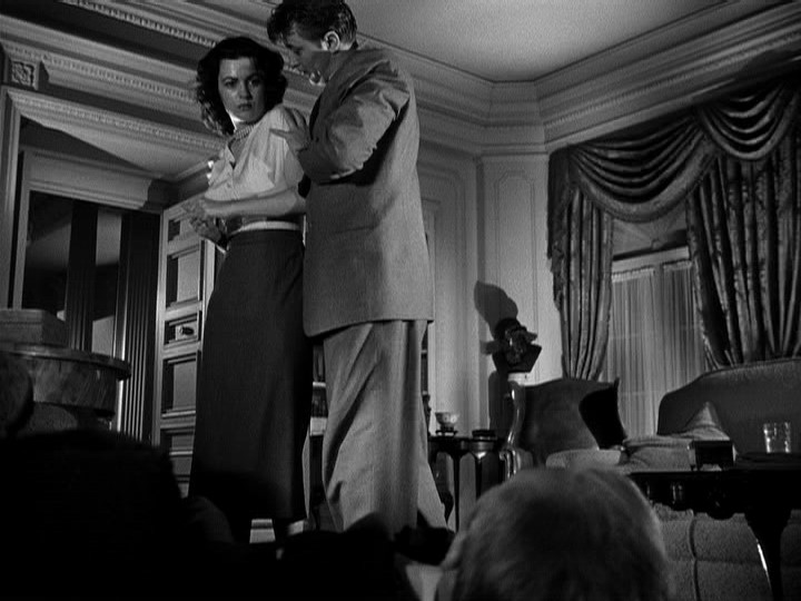 Mitchum and Domergue are on a highway to hell in 'Where Danger Lives'