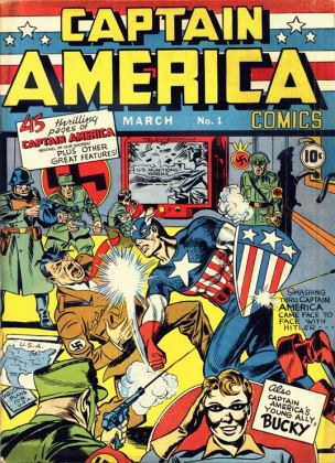 Captain America #1 Published December 1940 with March 1941 cover date