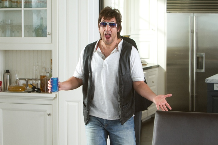 Donny Berger (Adam Sandler) in Columbia Pictures' comedy THAT'S MY BOY.