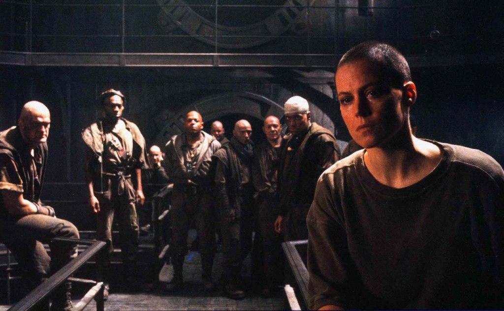 Sigourney Weaver, Charles S Dutton, David Morse (Alien 3)