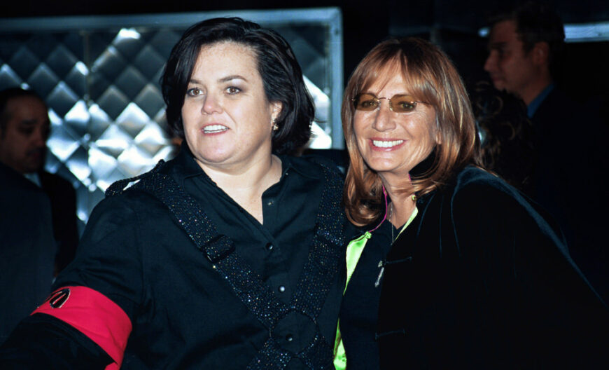 Rosy O'Donnell and Penny Marshall