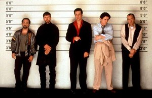 Kevin Pollak, Stephen Baldwin, Benicio Del Toro, Gabriel Byrne, Kevin Spacey (The Usual Suspects)