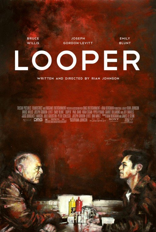 Looper poster by Zach Johnson