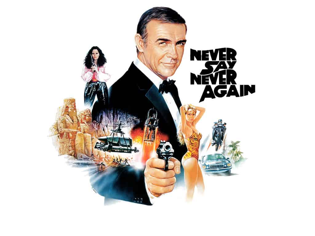 'Never Say Never Again' is a fun look at an alternate vision of Bond films, but nothing more