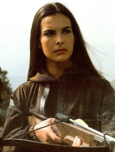 Carole Bouquet is Melina Havelock in For Your Eyes Only