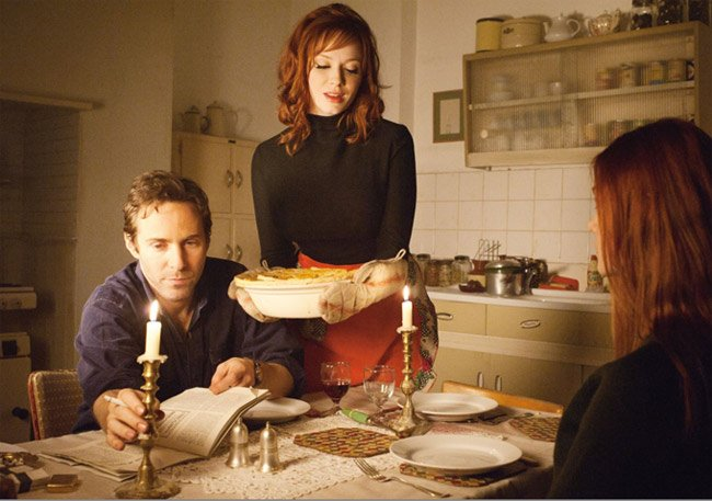 Ginger and Rosa Christina Hendricks Alessandro Nivola
