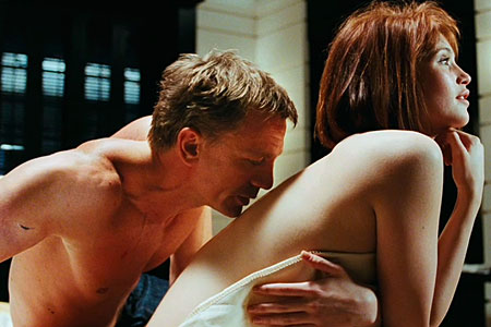 James bond and sex scene