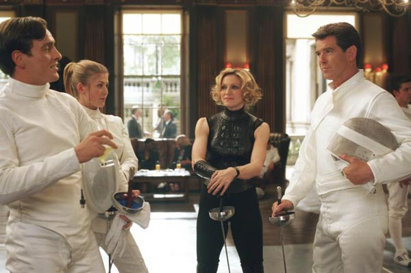 Die Another Day (Toby Stephens, Rosamund Pike, Madonna & Pierce Brosnan)