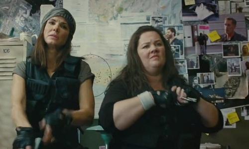 The Heat, starring Sandra Bullock and Melissa McCarthy