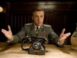 Christoph Waltz as Hans Landa in Inglorious Basterds (2009, written and directed by Quentin Tarantino)
