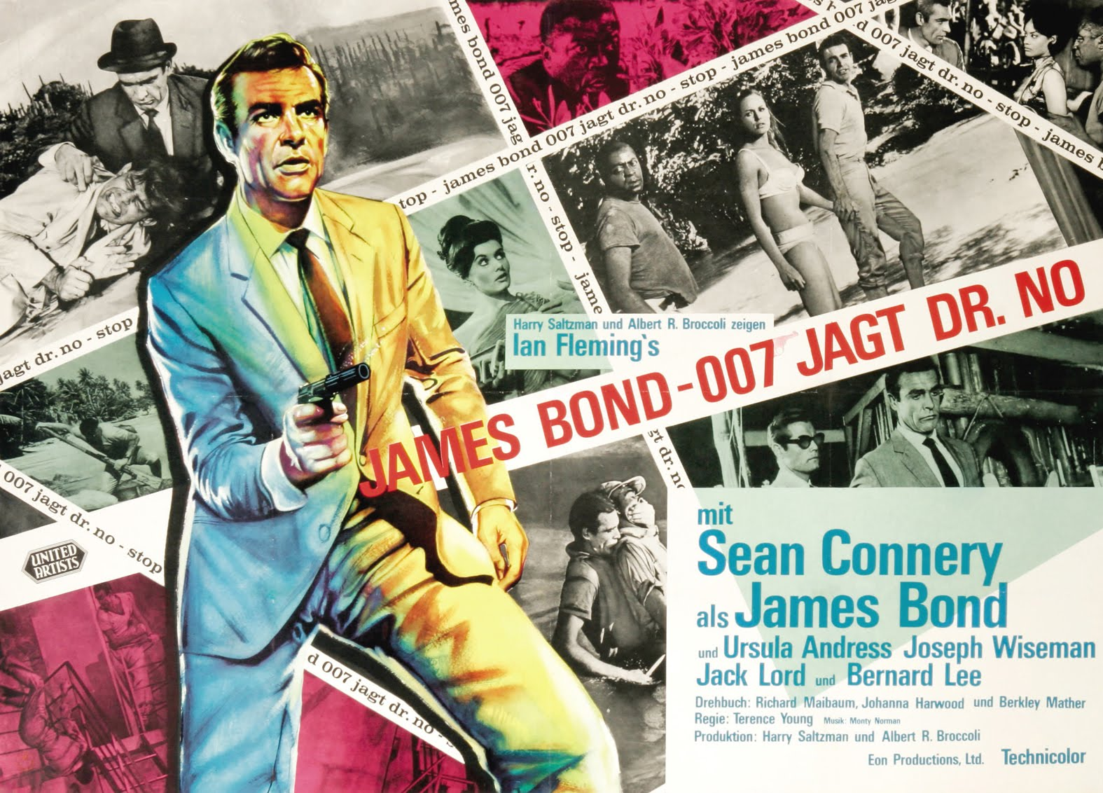 Dr. No Theatrical Poster