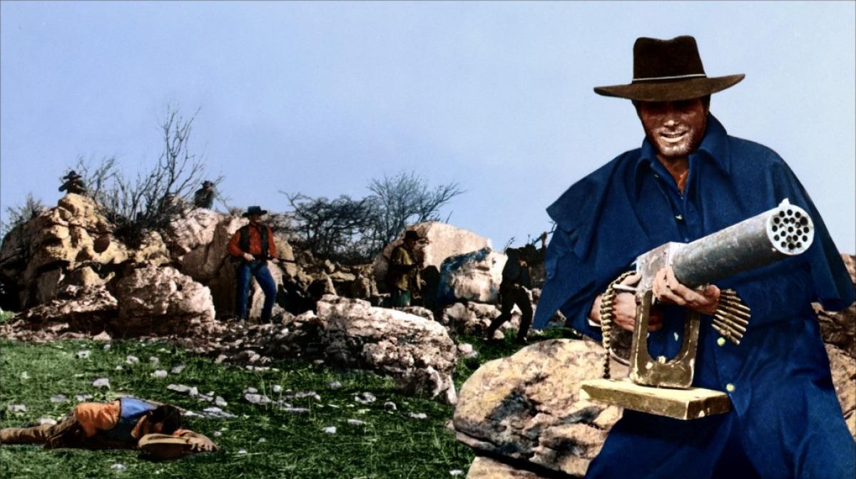 Tarantino blows up the spaghetti western in 'Django Unchained'