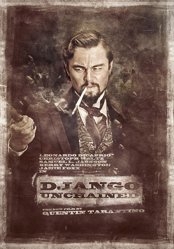 django-unchained-fan-poster-leonardo-dicaprio