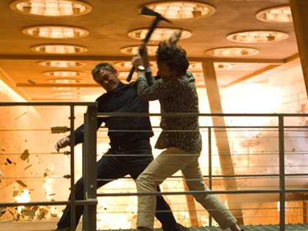 Quantum of Solace inferno fight