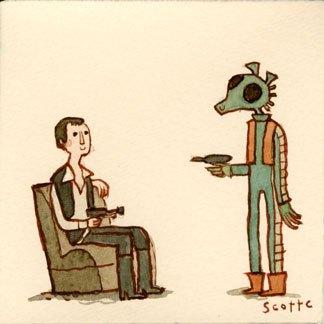 The Great Showdowns in Film: An Interview w/ Artist Scott C.