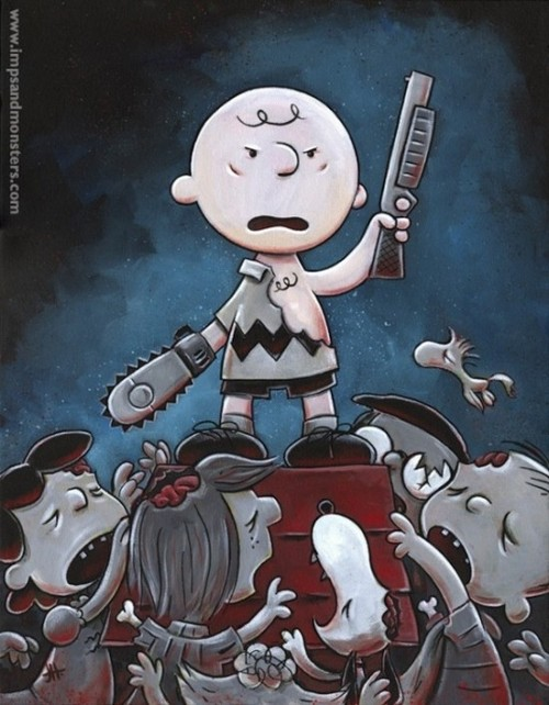 Charlie Brown Evil Dead