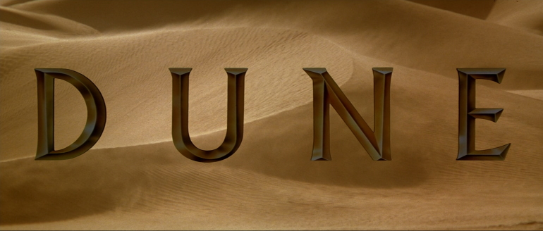 Dune Title card