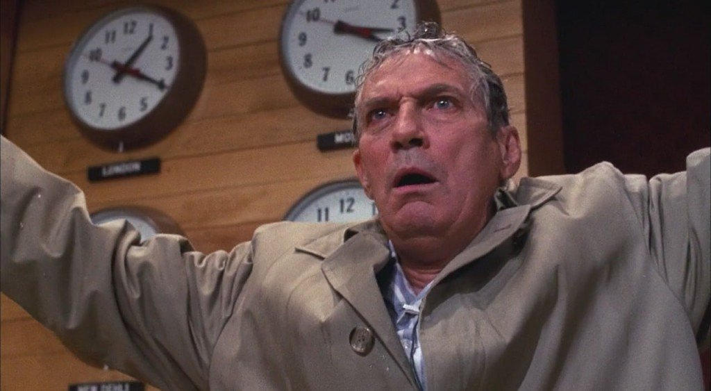 Peter Finch in Network (1976)