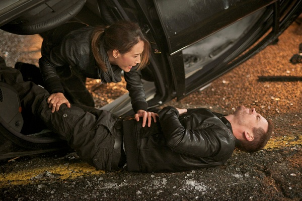 Maggie Q and Shane West
