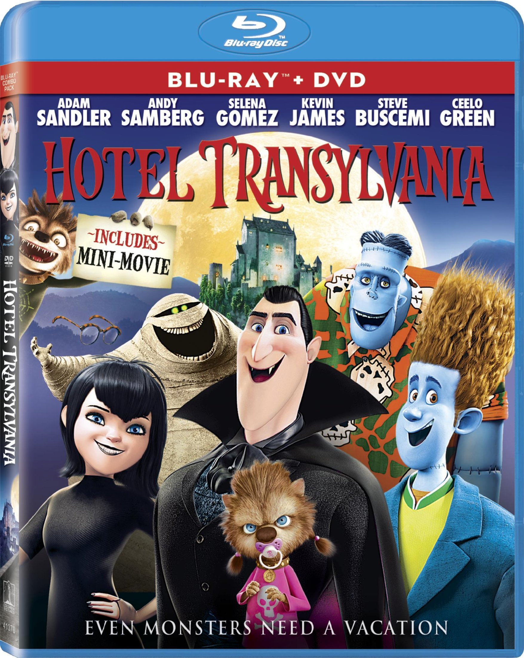 Giveaway: Win a 'Hotel Transylvania' Blu-ray Prize Pack