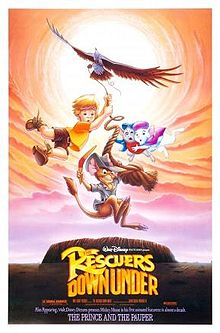 Rescuers down under poster