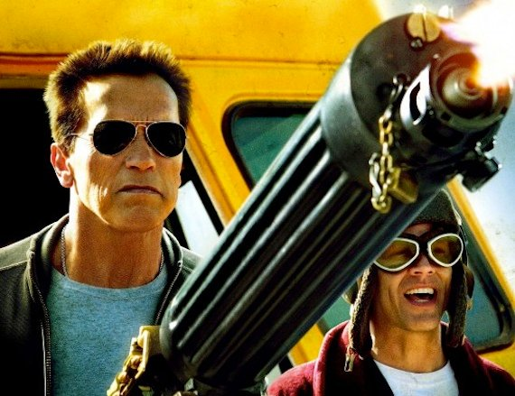 'The Last Stand' renews some of that old Schwarzenegger muscular magic