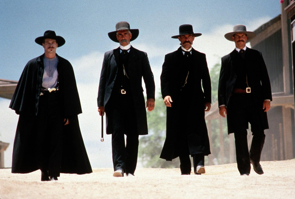 Tombstone (Val Kilmer, Sam Elliott, Kurt Russell & Bill Paxton)
