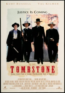 Tombstone (1993) Official poster