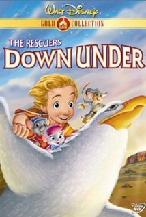 rescuers down under dvd poster