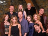 Buffy the Vampire Slayer creator Joss Whedon and season 5 cast