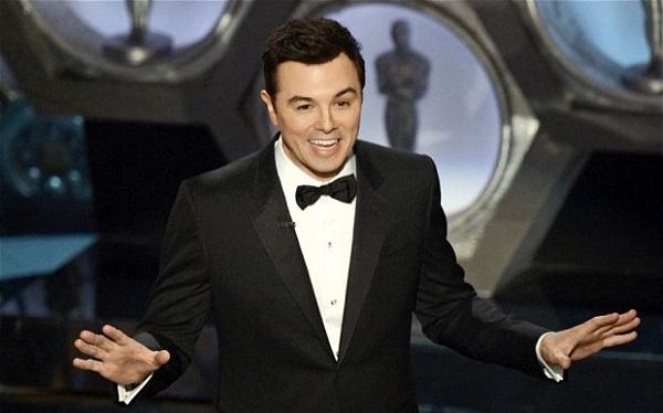 Seth MacFarlane soars as Oscars host