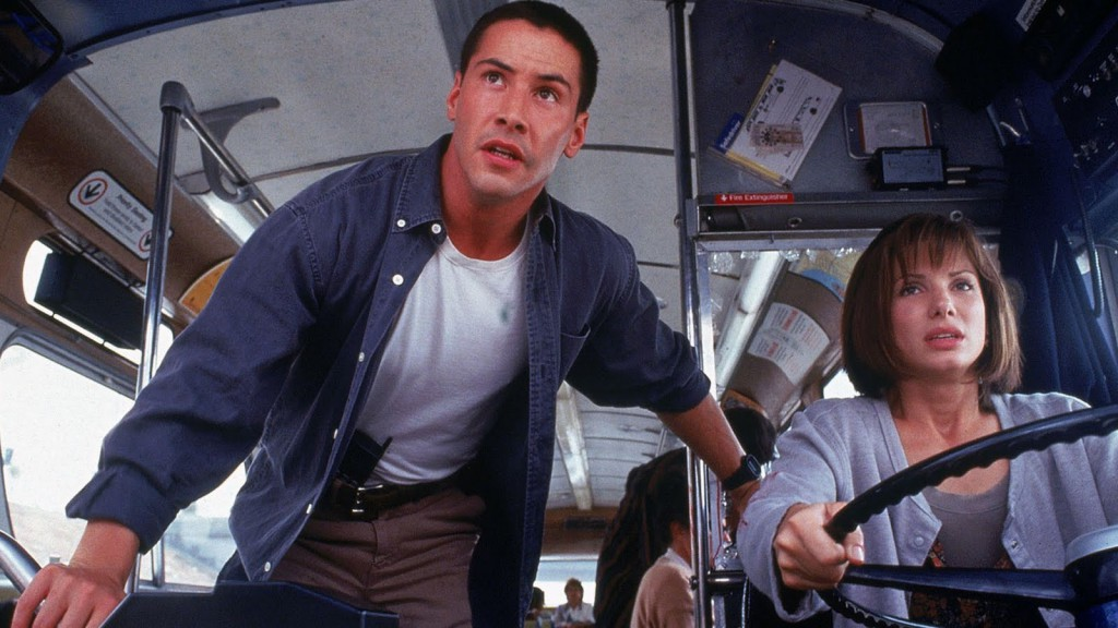 Speed (Keanu Reeves & Sandra Bullock)