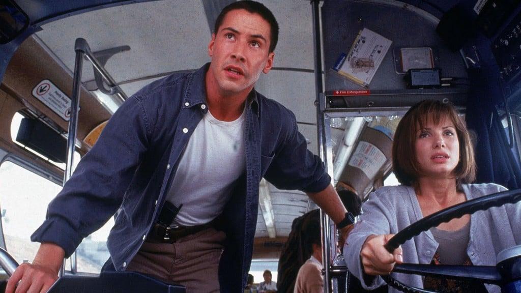 Speed (Keanu Reeves & Sandra Bullock)