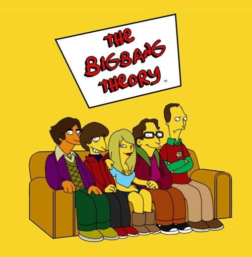 Big Bang Theory Simpsons