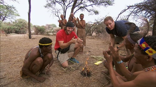 "The Amazing Race Ep  22 6, ""Scorpion King Hunter"": Here come the"