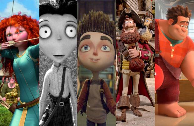 Animated Oscars 2013