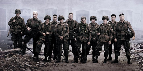 Band of Brothers Group Photo