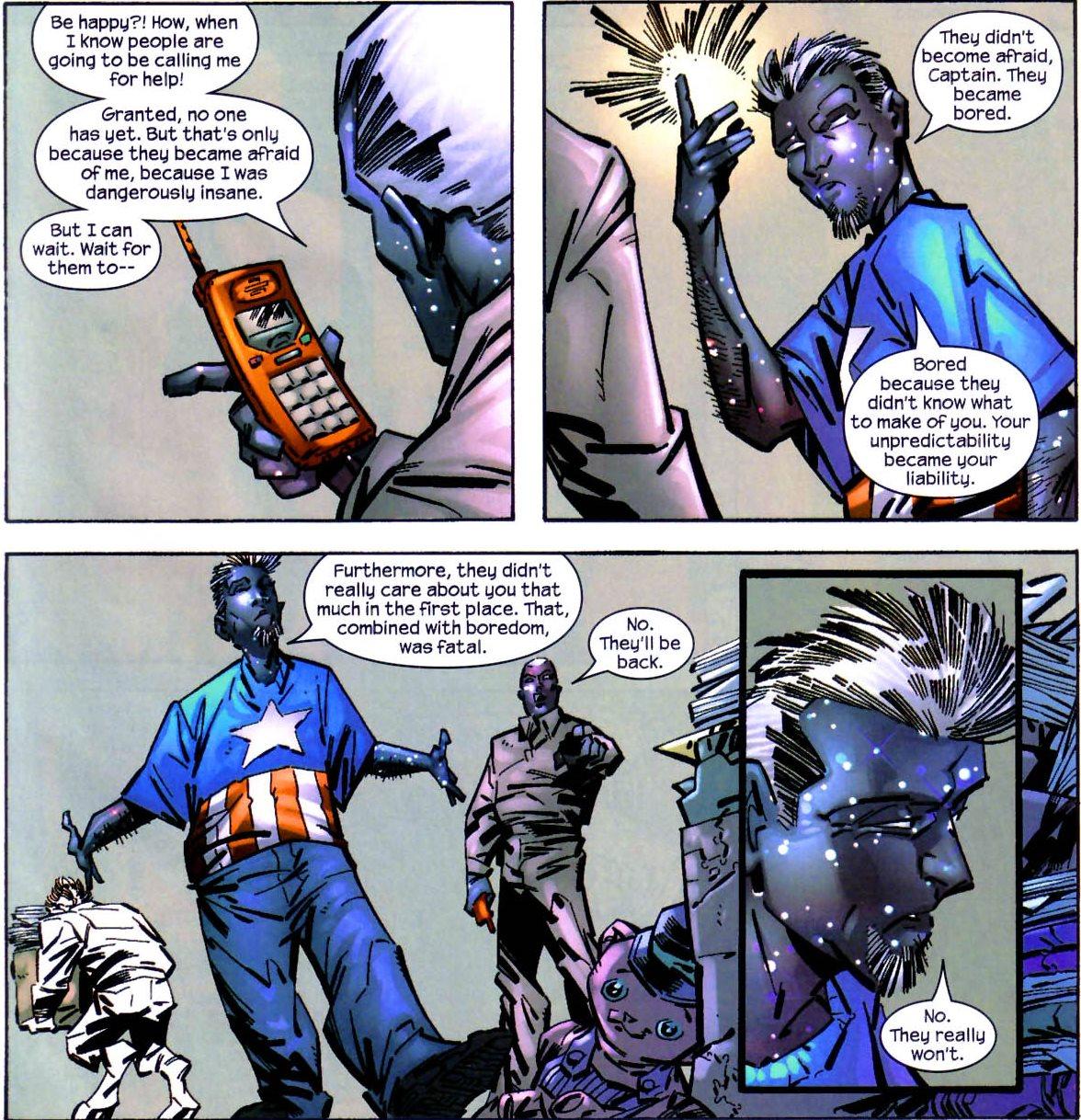 Captain Marvel panel