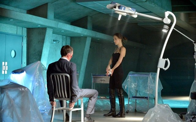 Peter Outerbridge, Maggie Q