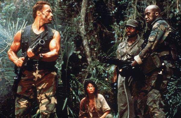 Predator (Arnold Schwarzenegger, Elpidia Carillio, Carl Weathers & Bill Duke)