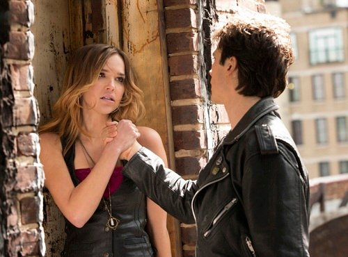 Ian Sommerhalder and Arielle Kebbel, Damon and Lexi, from The Vampire Diaries, Because the Night