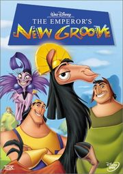 emperor's new groove dvd poster