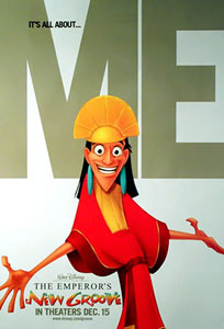 emperor's new groove poster